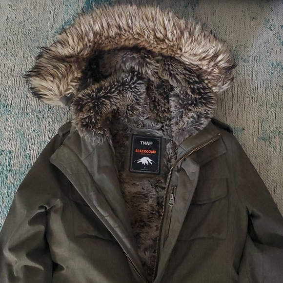 TNA Winter Parka in army green